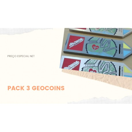 Pack of 3 Coins