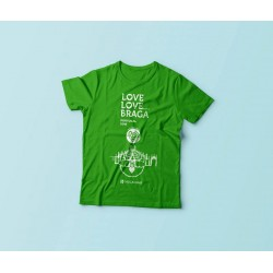 T-Shirt Braga 2016 - Verde