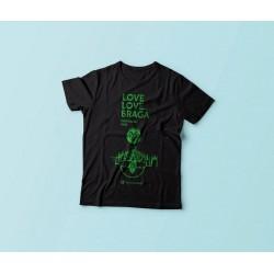 T-Shirt Braga 2016 - Negra
