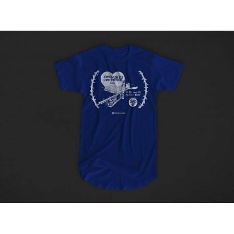 T-Shirt Porto 2017 - azul